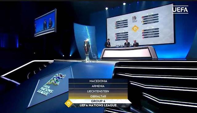 UEFA Nations League: Mazedonien gegen Gibraltar, Liechtenstein und Armenien