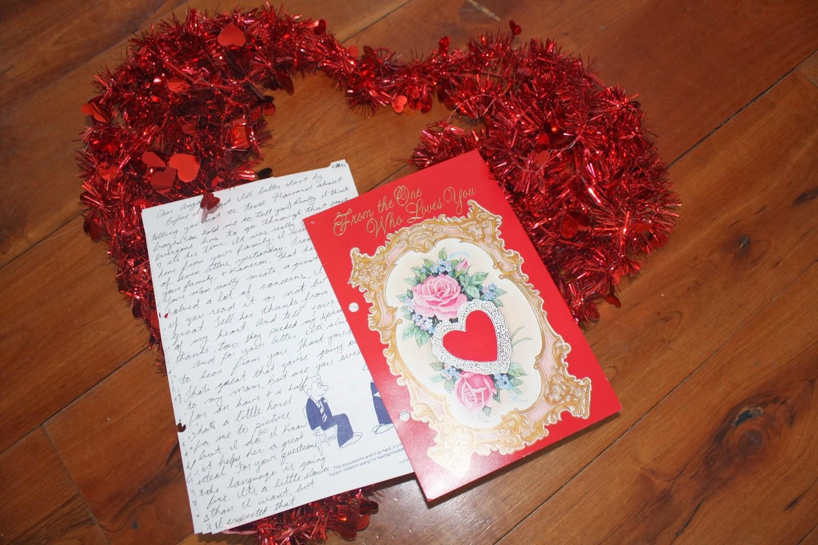 Barnwood and Tulips: Celebrating February- love letters