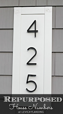 Ideas for house numbers