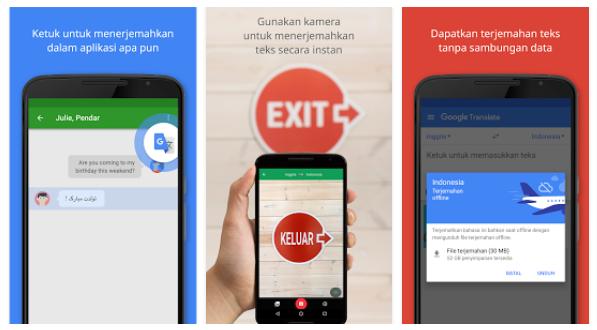 8 Aplikasi Penerjemah / Translate Android Terbaik dan Gratis