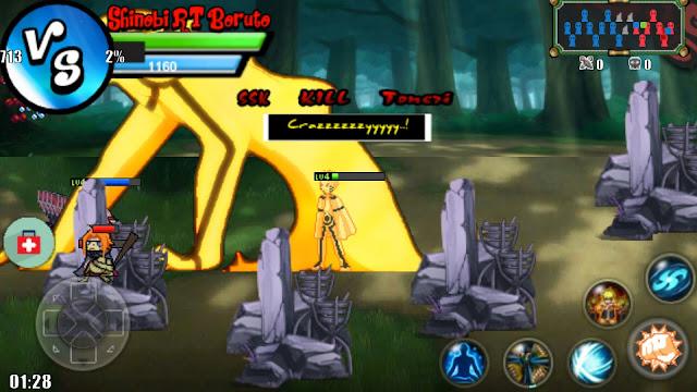 Download Game Android Boruto Senki Shinobi Flame 3 MOD APK [All Character Unlocked]