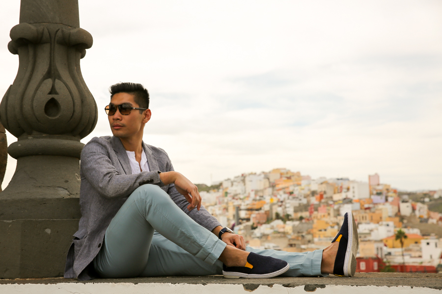 Leo Chan, Levitate Style, menswear, Travel, Las Palmas, Gran Canaria, what to wear