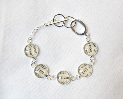 image to kill a mockingbird bracelet atticus finch jem scout dill boo radley two cheeky monkeys jewellery jewelry handmade etsy silver