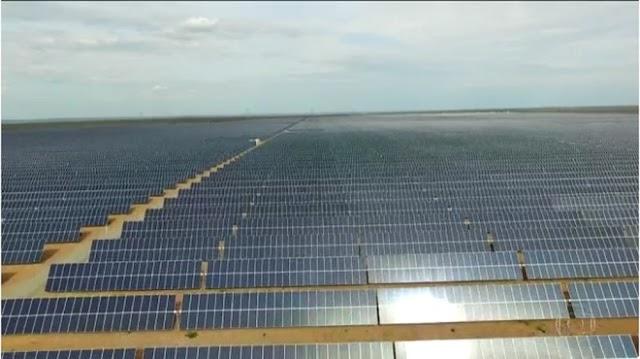 Maior parque solar da América Latina é inaugurado no Piauí