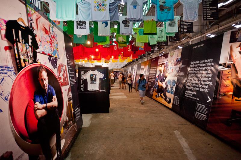*來去Cockatoo Island看T-world的NEXT展:The future of T-shirt graphics 5