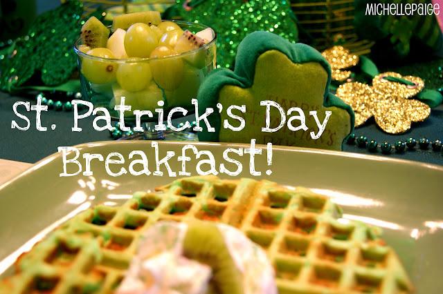 St. Patrick's Day Breakfast ideas @michellepaigeblogs.com