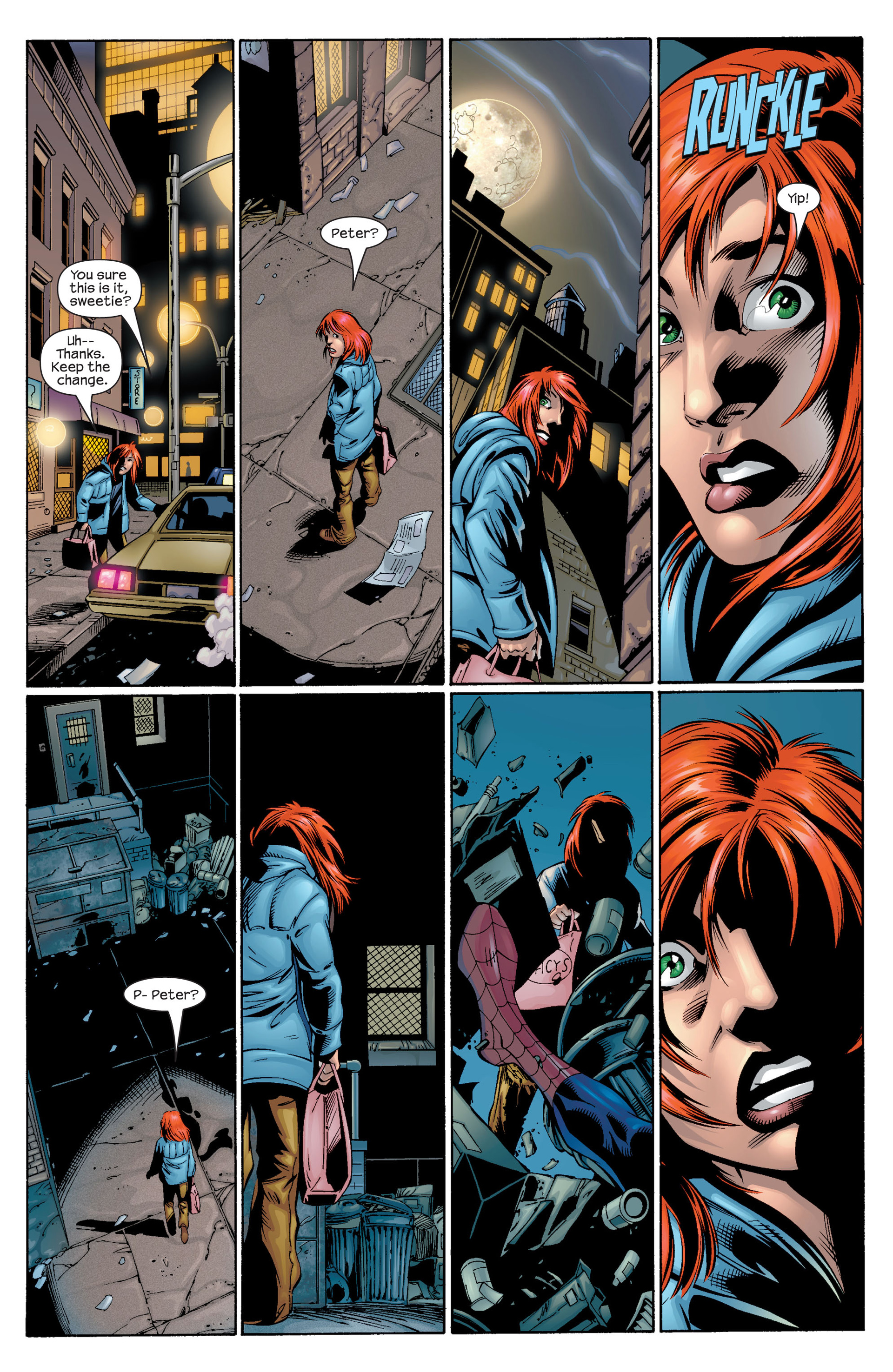 Read online Ultimate Spider-Man (2000) comic -  Issue #30 - 11