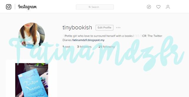 tinybookish's instagram