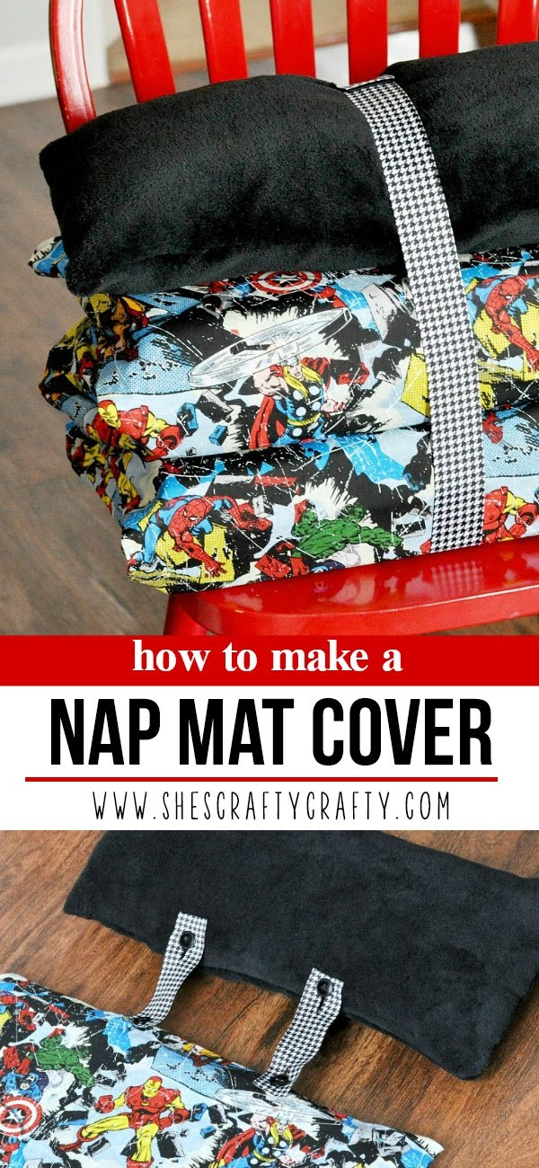 How to make a cover for a Nap Mat or Kinder Mat