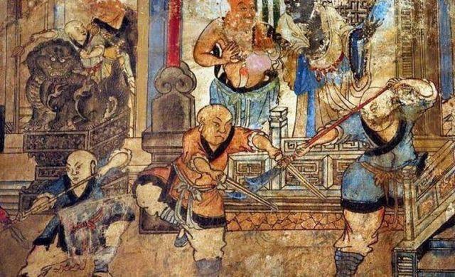 Shaolin Wushu Monk