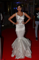 Sanchita Shetty in Deep neck Sleeveless White Gown Stunning Beauty at 64th Jio Filmfare Awards South ~  Exclusive 002.JPG