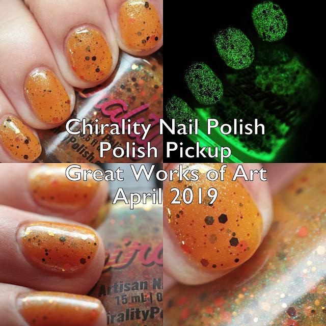 Chirality Nail Polish Polish Pickup Great Works of Art April 2019