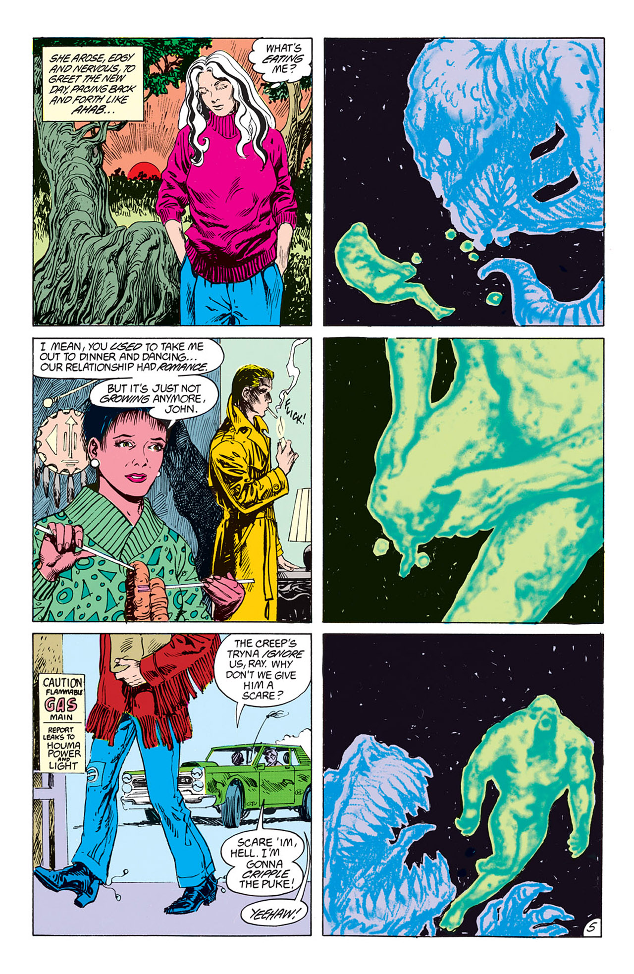 Swamp Thing (1982) Issue #73 #81 - English 6