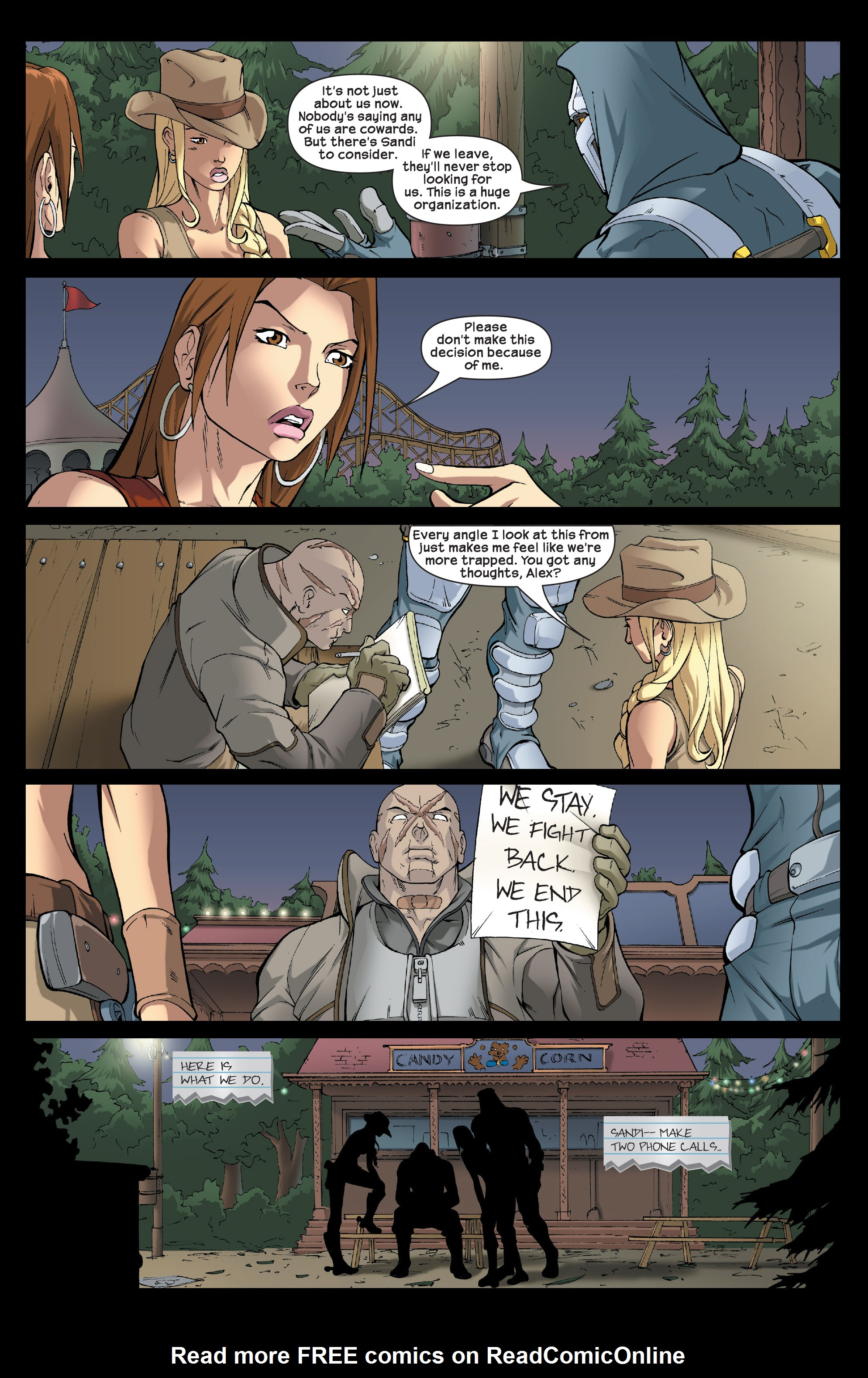 Read online Agent X comic -  Issue #5 - 22