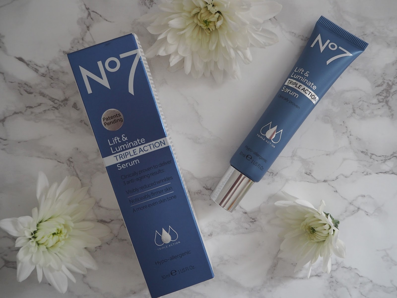 Review of Boots No 7 serums, generations