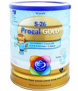 Harga Susu Procal Terbaru Bulan Ini