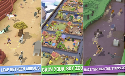Rodeo Stamped Sky Zoo Safari Mod Apk1