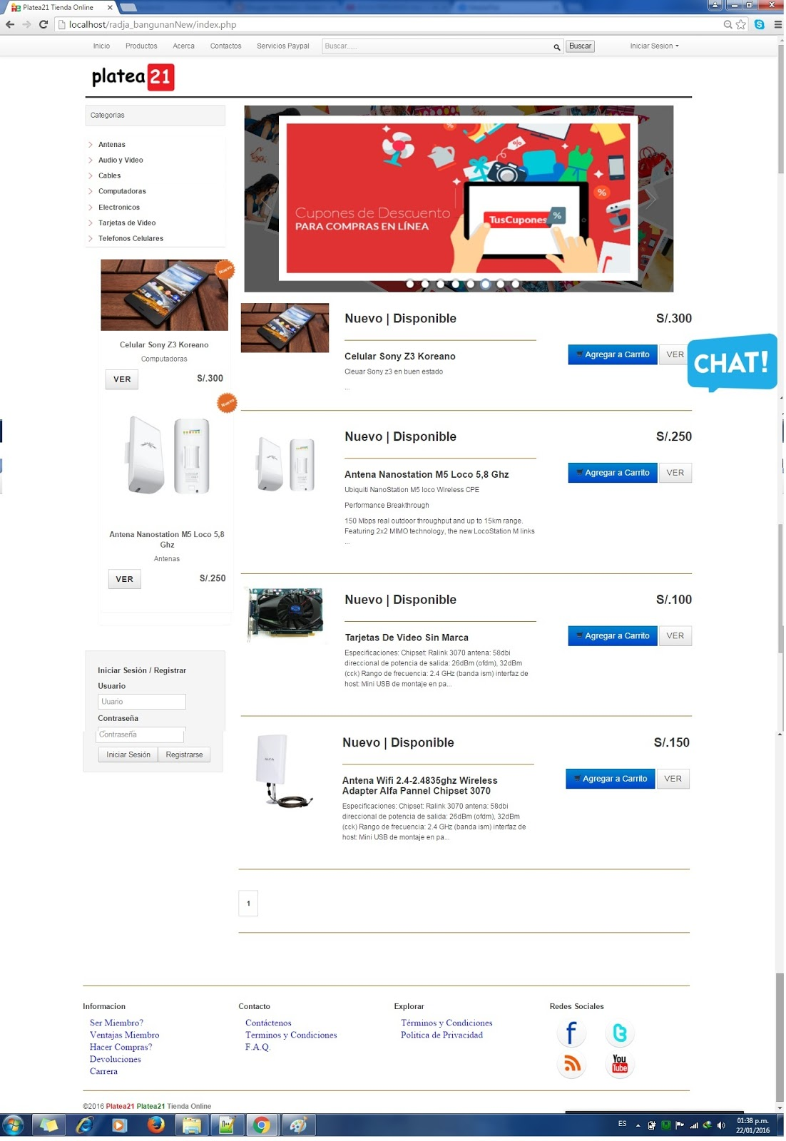 sistema de ventas para tienda gratis ~ Tusolutionweb