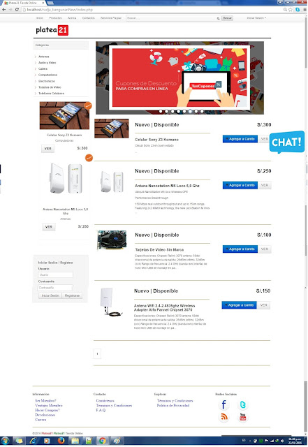 tienda online ecommerce php