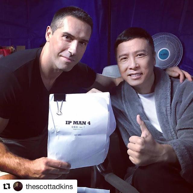 passion wing chun: [film & série] ip man 4 : scott adkins au casting