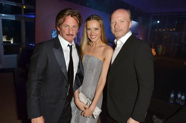 Sean Penn, Petra Novancova, Paul Haggis  ©George Leon/filmcastlive