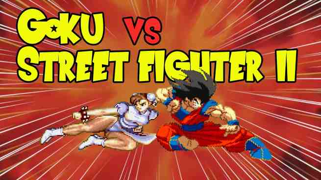 The Crusader's Realm: Goku Vs Street Fighter II video: You