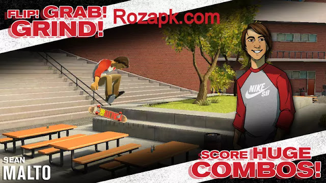 Transworld Endless Skater Apk+Data Mod v1.18 Latest Version For Android