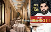 Logo ''Tagliati per vincere'' : vinci gratis 1 cena a Villa Crespi e 200 libri di Antonino Cannavacciuolo
