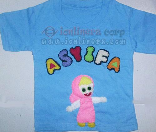 Kaos / Baju Flanel Anak Karakter Kartun Masha And The Bear