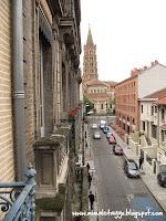 Vistas desde la ventana de Les Loges de St Sernin, Toulouse