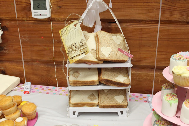 mad hatter themed party food sandwiches playing cards