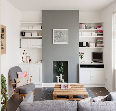 Model Desain Interior Ruang Keluarga Minimalis
