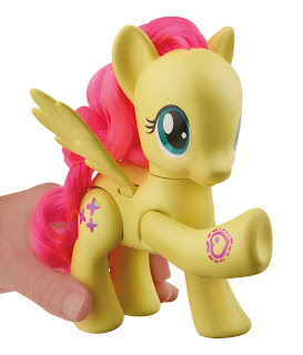 MLP Explore Equestria Fluttershy 6-inch Action Friends Brushable