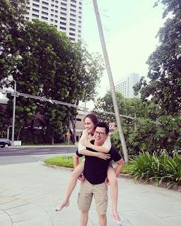 foto mesra shandy aulia dan suami