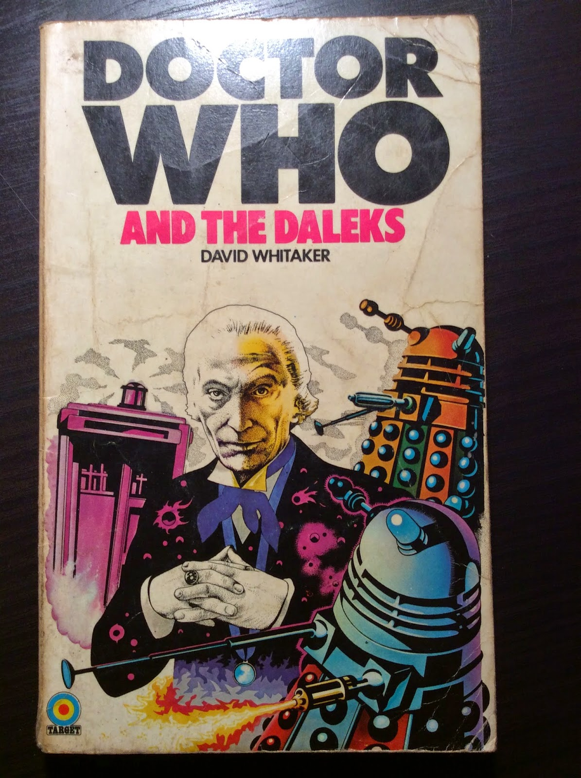 History of me: Doctor Who Target Books