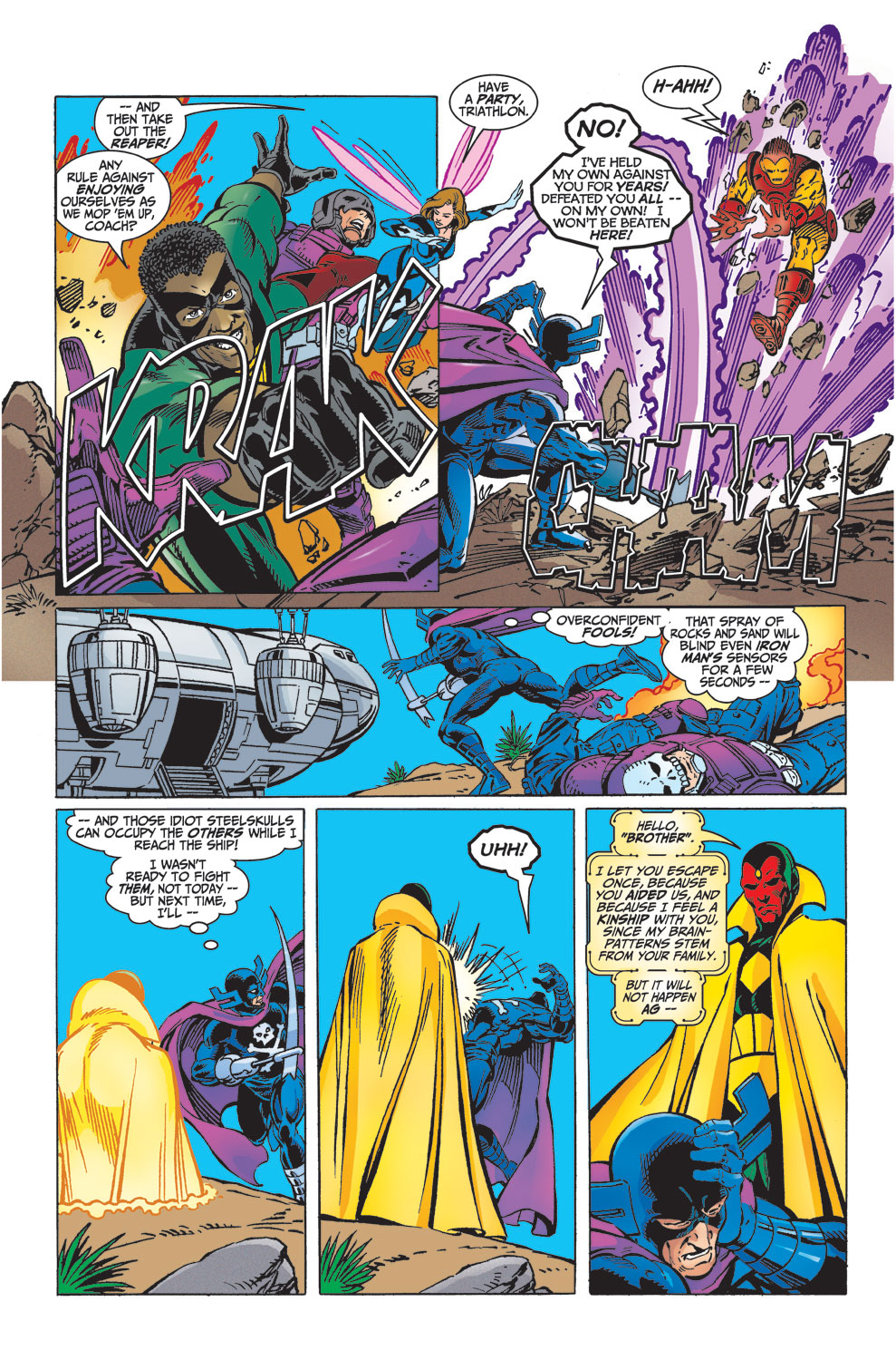 Read online Avengers (1998) comic -  Issue #32 - 21