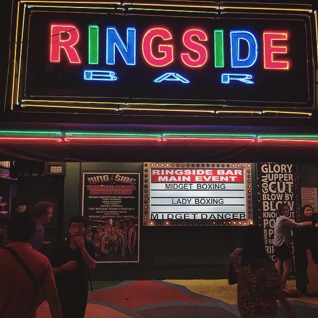 Ringside Bar - Midget Boxing - Manila | Jakarta100bars Nightlife