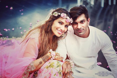 Lovey Dovey couple Karan Bipasha