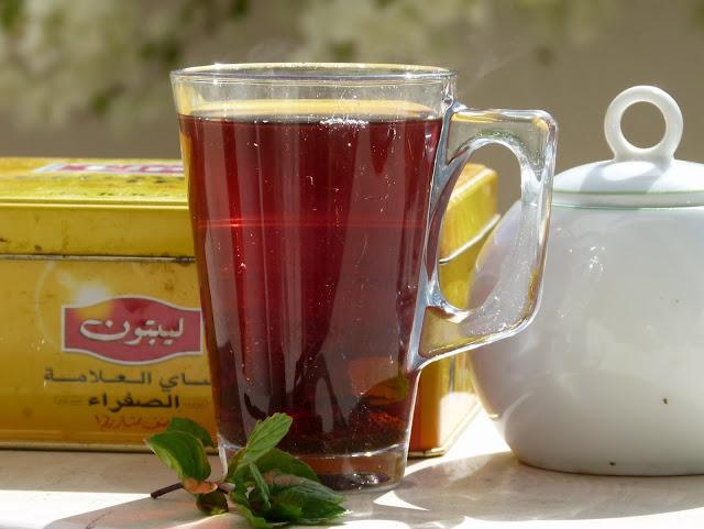 Ägyptischer schwarzer Tee
