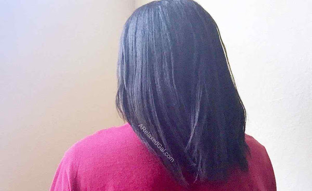 11 week relaxer stretch results | A Relaxed Gal