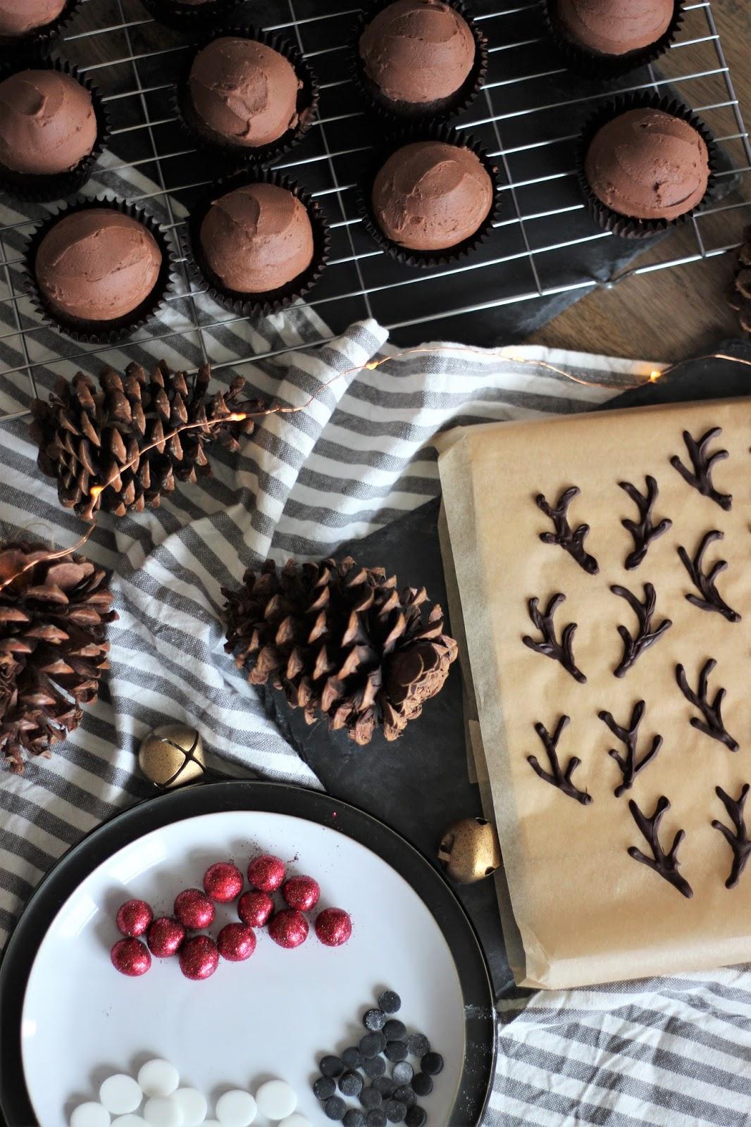 Rudolph -cupcakes