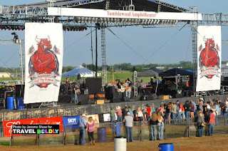 The main stage during the 2015 Calf Fry Music Festival  Photo by Jerome Shaw for Travel Boldly