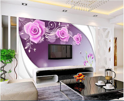 amazing 3D wallpaper for living room walls 2019