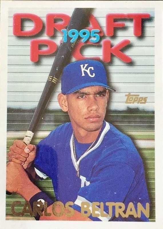 Card Buzz 1995 Topps Traded Carlos Beltran Rc 18t