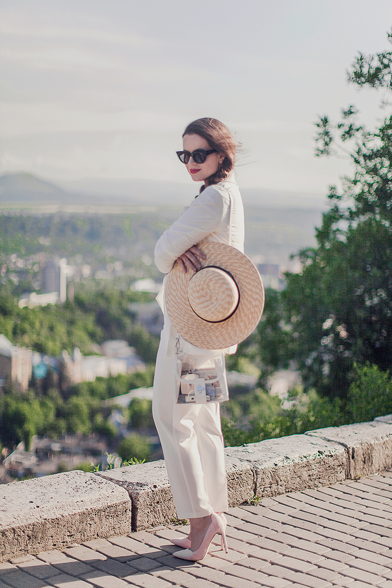 ASOS white suit