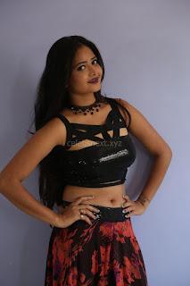 Shriya Vyas in a Tight Backless Sleeveless Crop top and Skirt 163.JPG