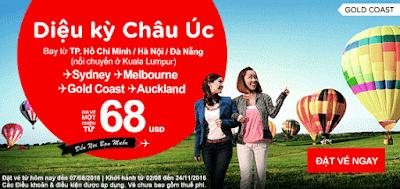 Nghỉ ngơi và tận hưởng cùng vé máy bay Air Asia