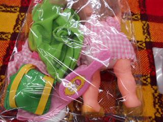 中古品のメルチャン人形セットは790円のセット内容です