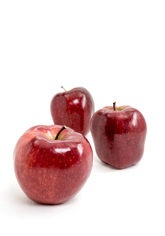 Red stark apples