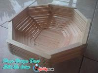 Panduan Lengkap Membuat Vas Bungan Dari stik Es Krim | Kerajinan Keren